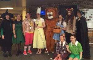 Wizard of Oz Dress Up Day for Teacher Appreciation Week