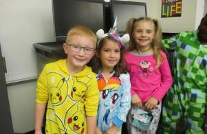 Pajama Spirit Day