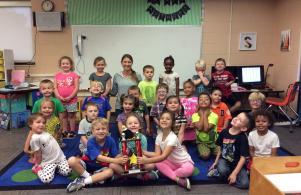 Mrs. Sime's class - CAMPE Award