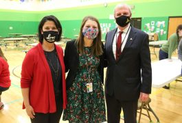 Dr. Soto Kile, Madelyn Beers, Dr. Thacker